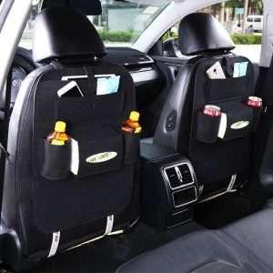 Car Backseat Organizer Bag Black